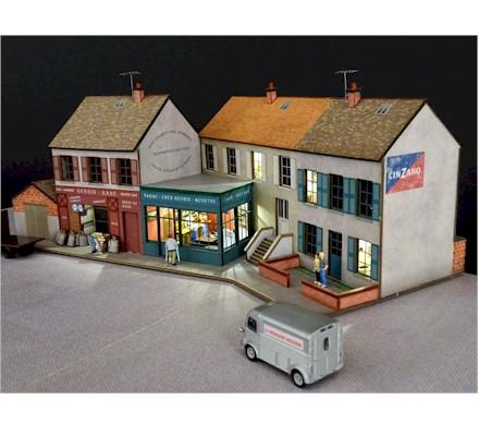 KIBRI h0 38100-Décoration-Set environ pour la maison produit NEUF